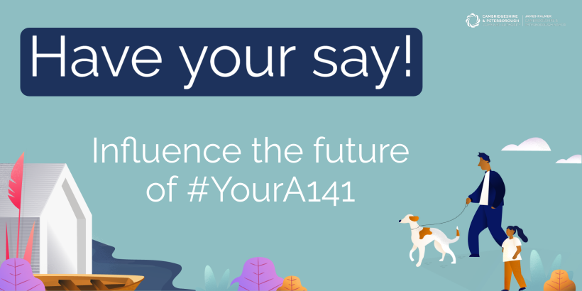 'It's Your A141' – Have your say on the A141 Image