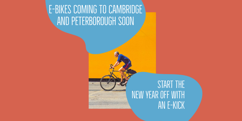 Electric bikes to launch in Cambridge and Peterborough from January Image