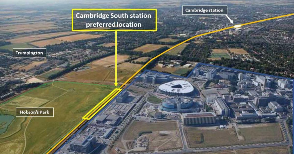Mayor seeks 'people-centred' and integrated Cambridge South hub Image